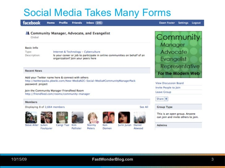 Demystifying Social Media: Tools and Techniques Slide 3