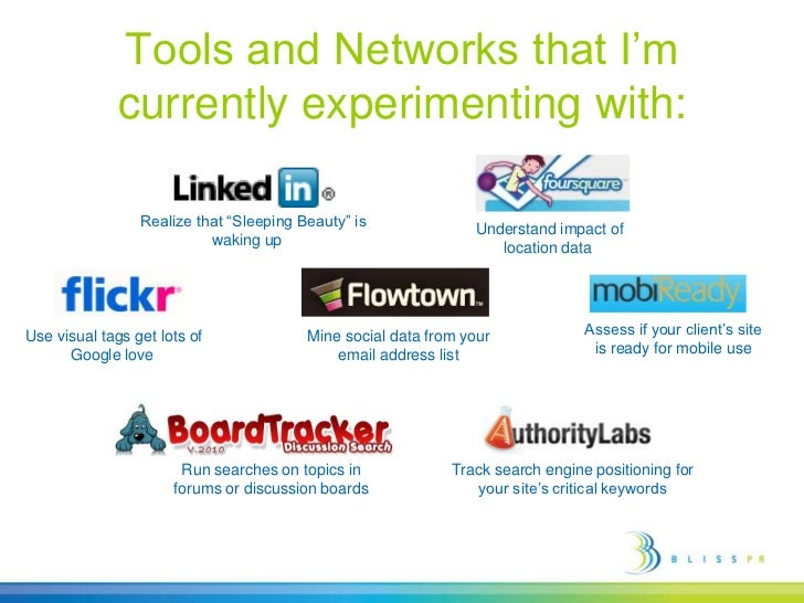 """Tools and Networks that I'm currently experimenting with:<br /> Realize that """"Sleeping Beauty"""" is waking up <br /> Unders..."""