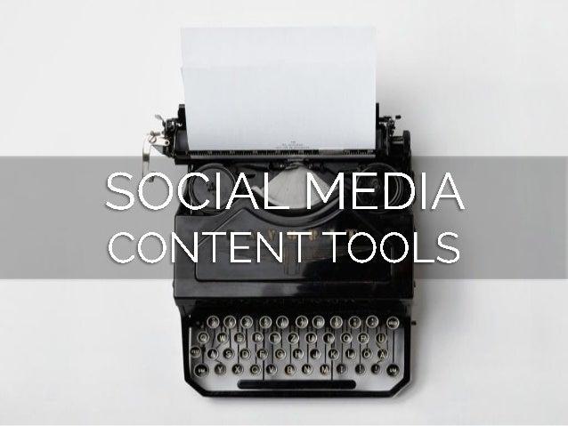 Top 28 Social Media Tools to Make Your Job Easier