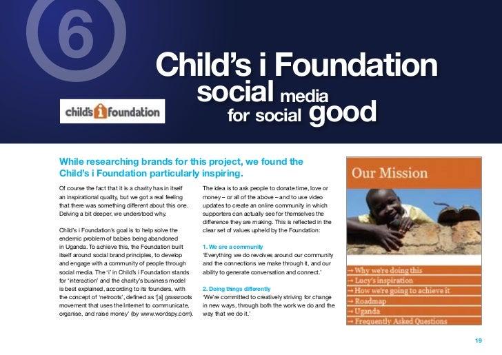 6                                      Child's i Foundation                                                        social ...