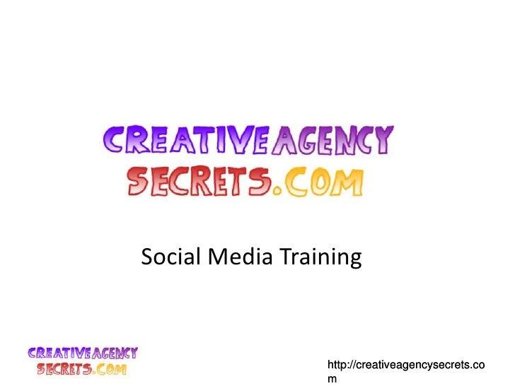 Social Media Training<br />