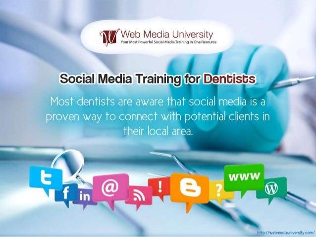 Social Media Training for Dentists