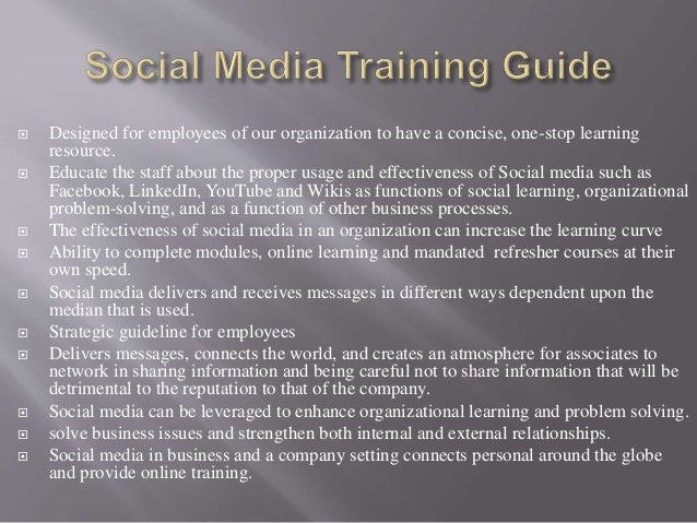  Social Learning: informal and there are no set  time frames for classes like traditional learning   Barriers: personal ...