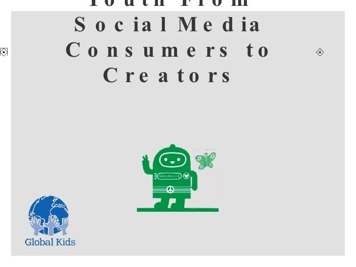 Transforming Youth From Social Media Consumers to Creators