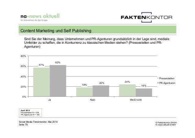 © Faktenkontor GmbH © news aktuell GmbH Sind Sie der Meinung, dass Unternehmen und PR-Agenturen grundsätzlich in der Lage ...