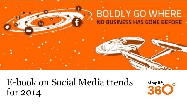 E-book on Social Media trends for 2014