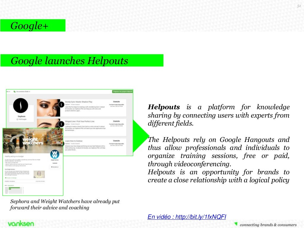 51 Google+ Google launches Helpouts
