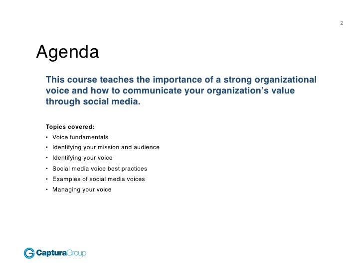 Finding Your Social Media Voice