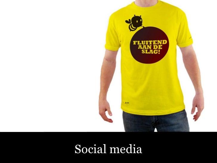 Sociale Media – Fluitend aan de Slag! Social media