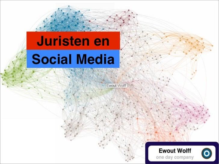 Juristen enSocial Media
