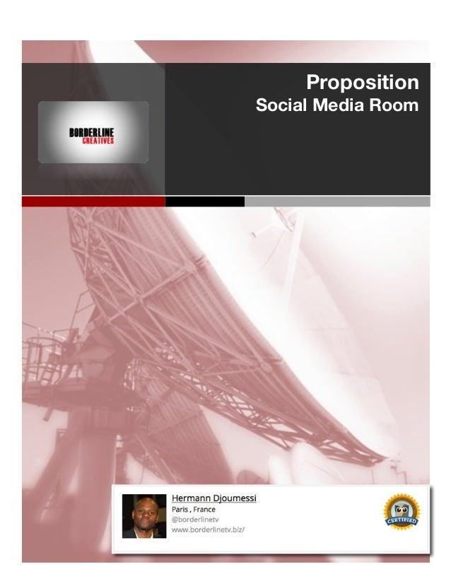 Proposition Social Media Room !