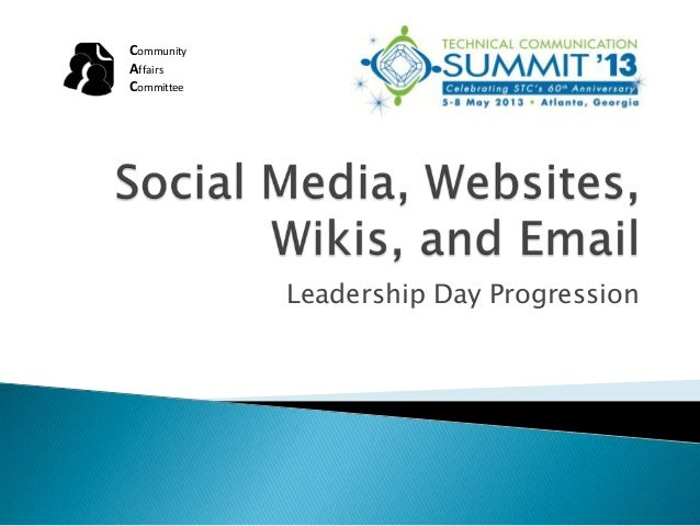 Leadership Day ProgressionCommunityAffairsCommittee