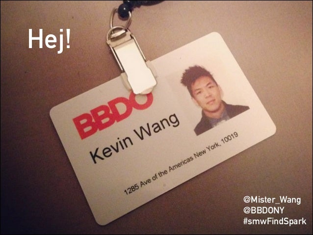 Hej! @Mister_Wang @BBDONY #smwFindSpark
