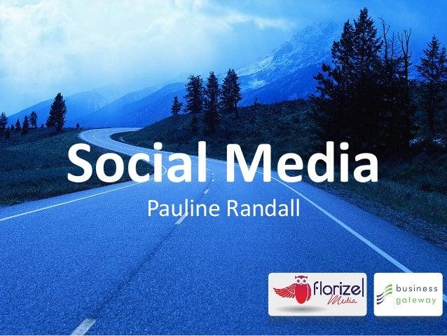 Social Media   Pauline Randall
