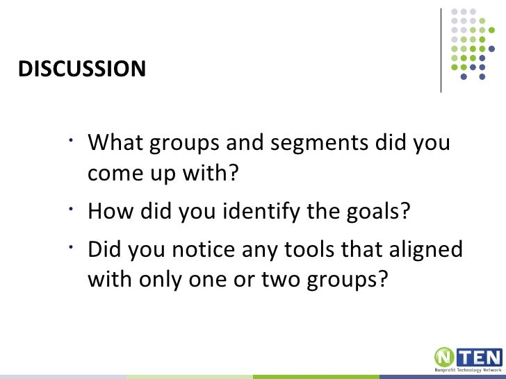 STEP 2: GOALS    Examples:    Increase visibility of the organization    Increase participation    Raise funds    Build le...