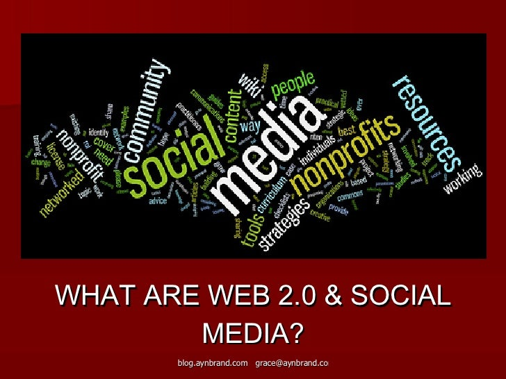 Web 2.0 & Social Media Workshop - Spacetaker Slide 3