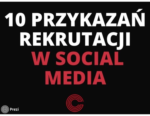 Wykorzystanie Social Media w procesie rekrutacji Slide 2