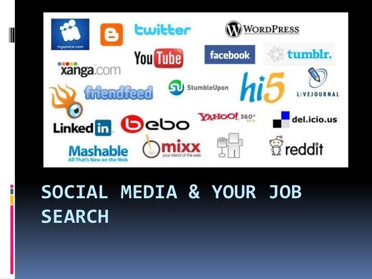 Social Media & Your Job Search<br />