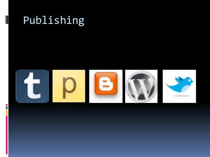 Publishing <br />