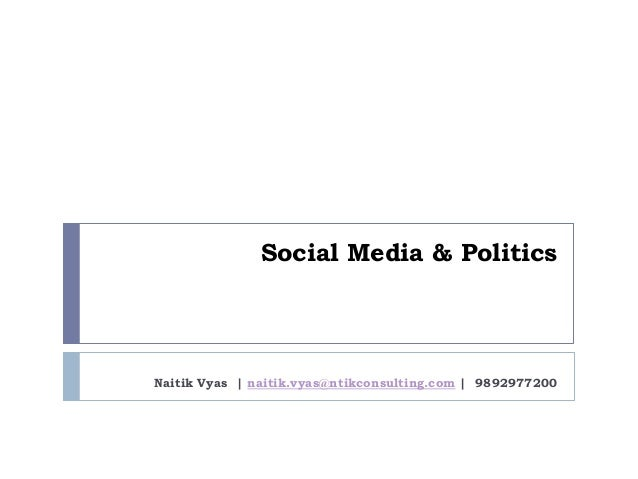 social media youth in politics Few people will deny that social media has changed the way people  patterns  of social media use and youth political engagement in three.