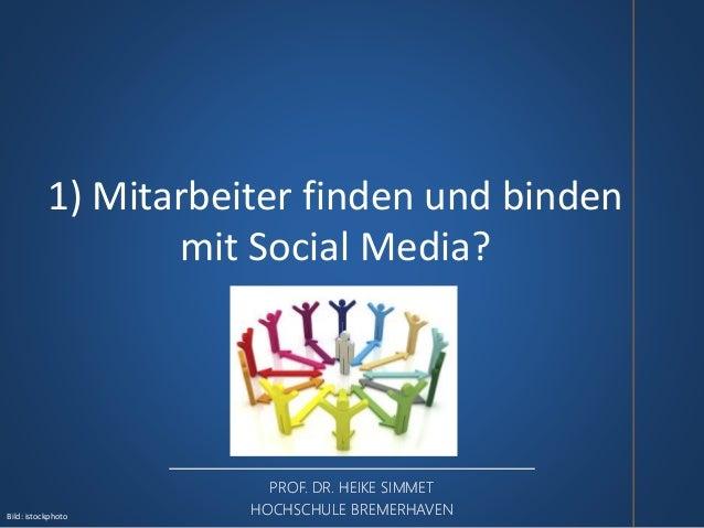 Social Media zur Suche und Bindung von Mitarbeitern in der Logistik  Slide 3
