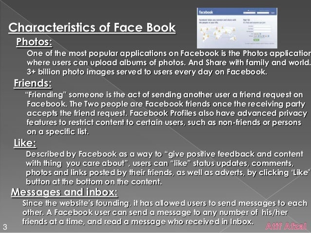 disadvantage of facebook Advantages of using facebook facebook is free and it s one of the best medium for communication with the help of facebook you can connect to different.