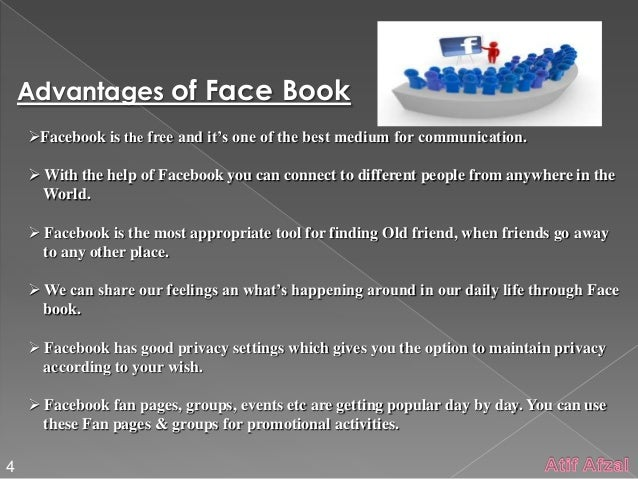 disadvantage of facebook I hear many people using facebookso,i wanted to know whether it is good or bad to use facebook thanks for all in advance for helping me.