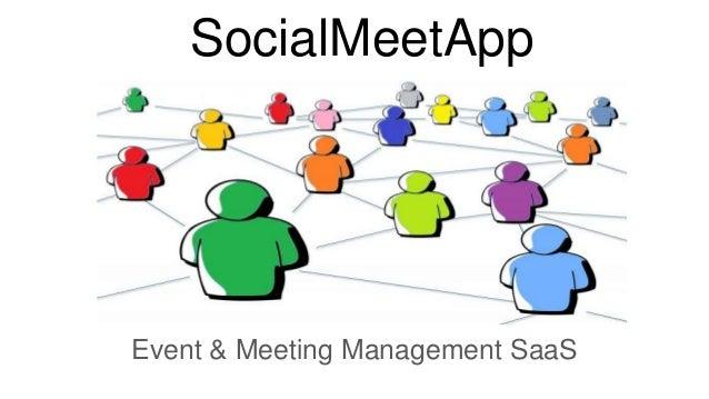 SocialMeetApp Event & Meeting Management SaaS