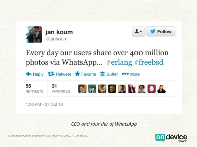 Ceo And Founder Of Whatsapp