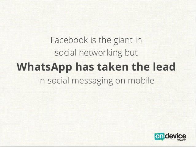 Messenger Wars: How Facebook lost its lead Slide 2