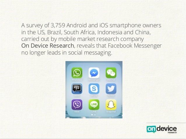 Messenger Wars: How Facebook lost its lead Slide 3