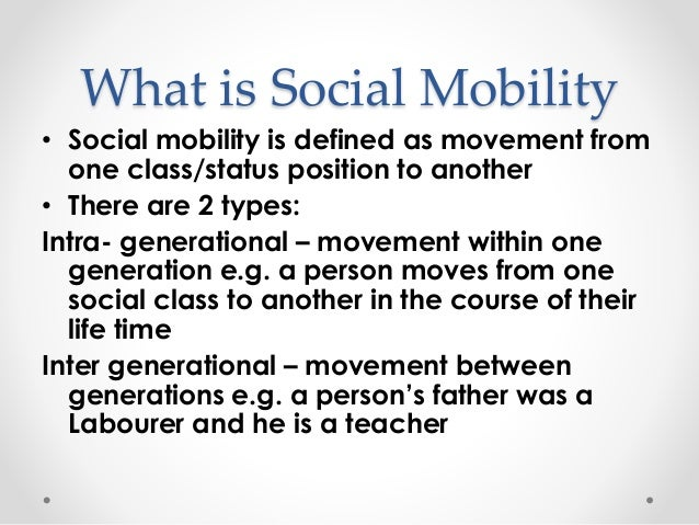 Image result for social mobility