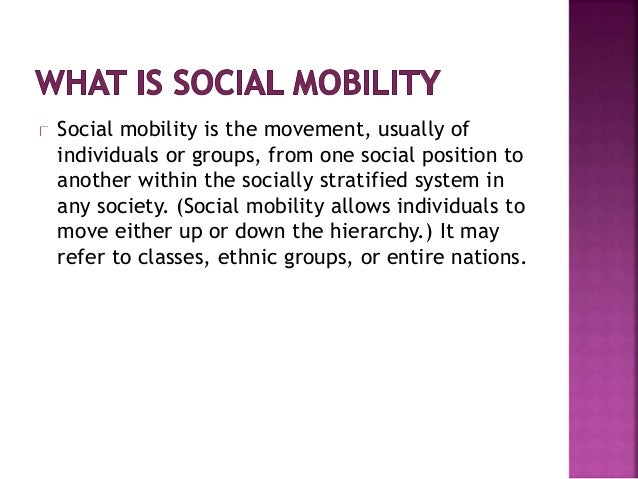 In closed systems, like in the plantation society, social mobility was impossible. Now in the Caribbean it is quite possib...