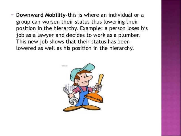 Horizontal Mobility-it is a change in an occupational position but not a change in status. It is a change in position but ...