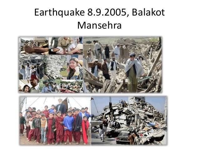 Earthquake 8.9.2005, BalakotMansehra