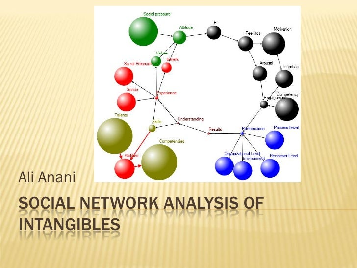Ali Anani SOCIAL NETWORK ANALYSIS OF INTANGIBLES