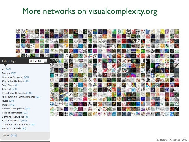 More networks on visualcomplexity.org                                    © Thomas Plotkowiak 2010