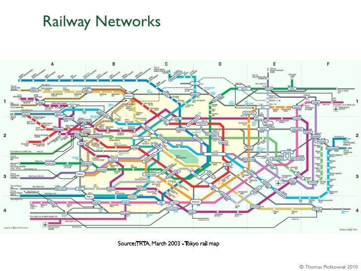 Railway Networks          Source: TRTA, March 2003 - Tokyo rail map                                                      ©...