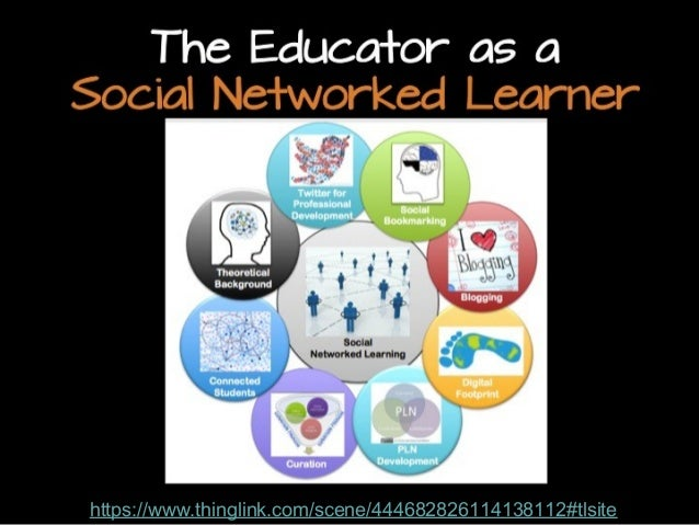 The Educator as a Social Networked Learner  https://www.thinglink.com/scene/444682826114138112#tlsite http://www.flickr.co...