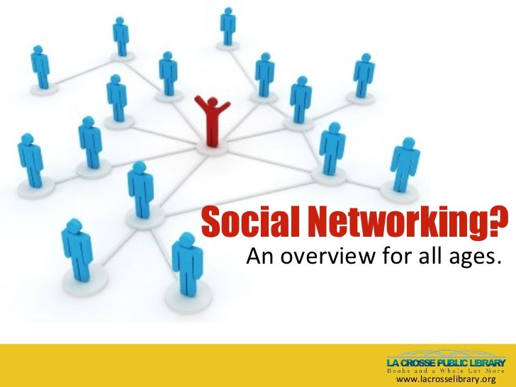 Social Networking? An overview for all ages. www.lacrosselibrary.org