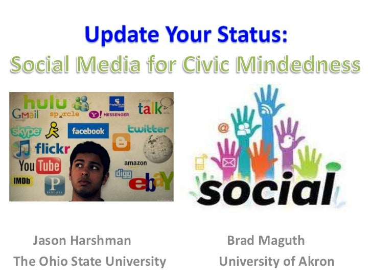 Jason Harshman            Brad MaguthThe Ohio State University   University of Akron