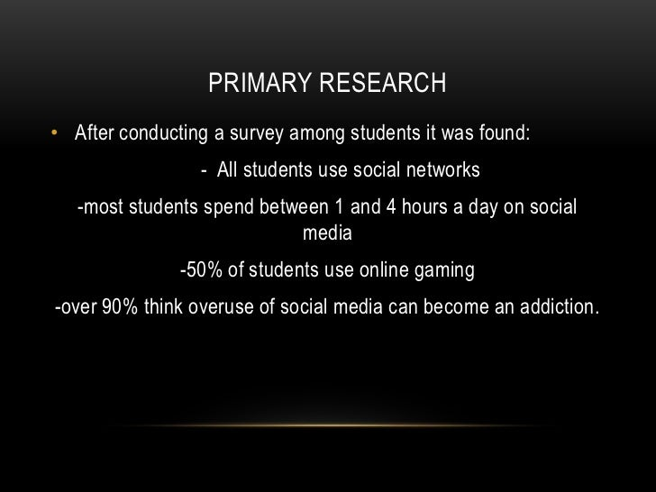 Research Paper on Computer Games Addiction