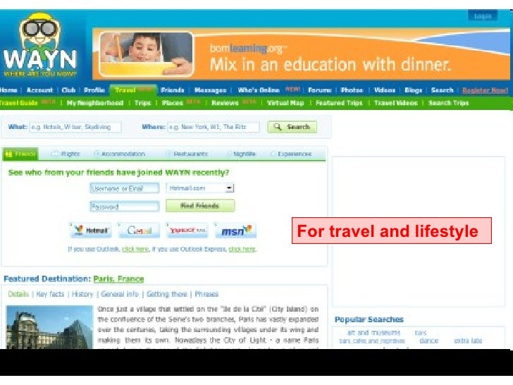 wayn dating and travel