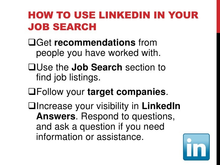 HOW TO USE FACEBOOK IN YOUR JOB SEARCH  Adjust your privacy settings as   appropriate and be careful what you post  Shar...