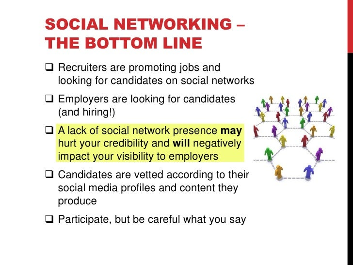 Social Networking and the Job Search