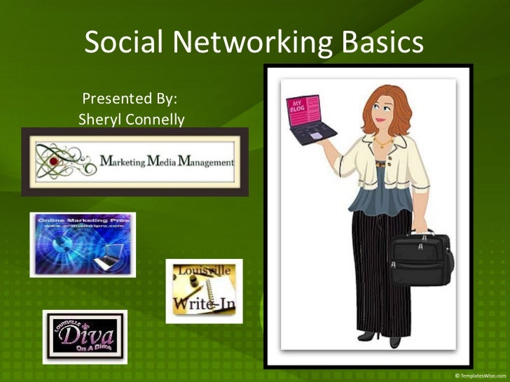 Social Networking Basics Presented By:  Sheryl Connelly