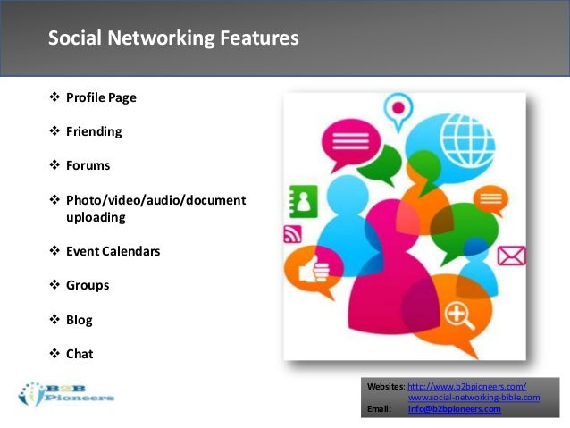 features of social networking Social media platform comparison key channel trends & features to inform your story sharing process platform key features demographics pros cons story tips.