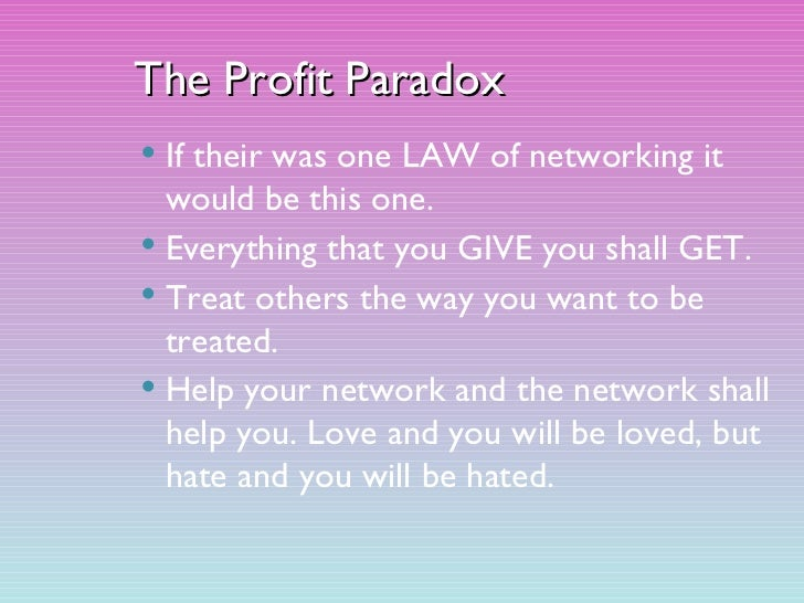 the social networking paradox Adopting social motl one network that many people though would revolutionize social media is why i love google and why i hate google i love a good paradox.