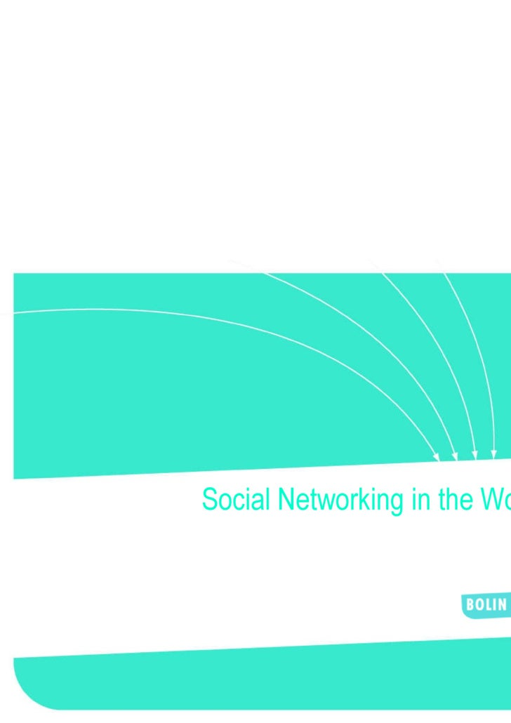 social networking in the workplace Social media at work: how networking tools propel organizational performance  [arthur l jue, jackie alcalde marr, mary ellen kassotakis] on amazoncom.