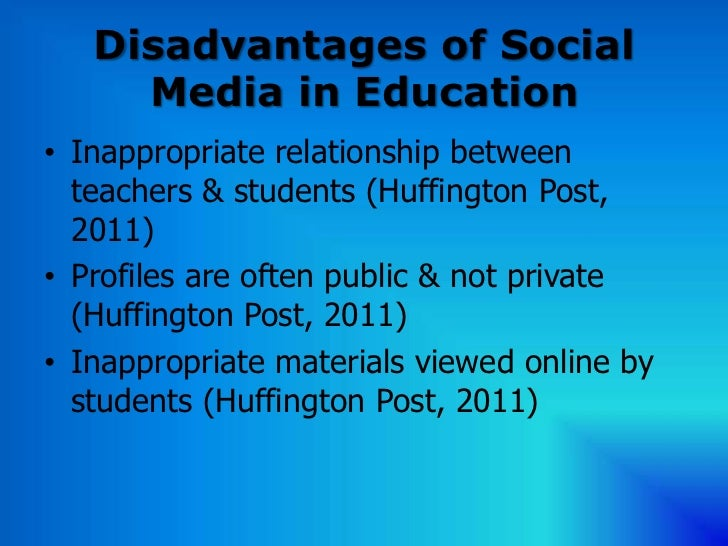 a report on the negative effects of social networks The impact of social networks on young people is significant the effects of social networking are twofold on the negative side.